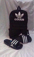 Used Offer deal: Adidas backpack&slippers 42, in Dubai, UAE