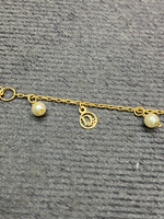 Used 18k Gold Bresele with dior charms in Dubai, UAE
