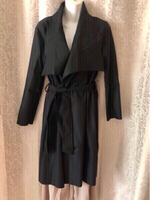 Used Black trench coat size XL (Asian) in Dubai, UAE