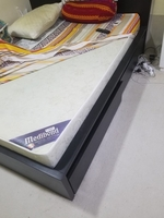 Used Queen size bed with new medical mattress in Dubai, UAE