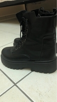 Used Minimalist lace-up frond combat boots  in Dubai, UAE