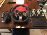 Used Xbox one+g920+shifter+games in Dubai, UAE