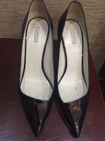 Used Giorgio Armani 38 patent leather heels  in Dubai, UAE