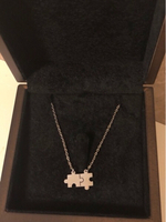 Used Silver StainlessTrendy Necklace (no box) in Dubai, UAE