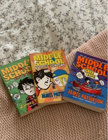 Used 3 books of middle school in Dubai, UAE