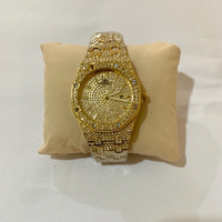 Used Luxury Fashion Watch Gold All Diamond. in Dubai, UAE
