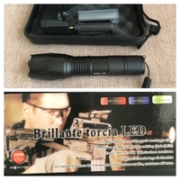 Used Brilliante torcia Led Metall flashlight  in Dubai, UAE