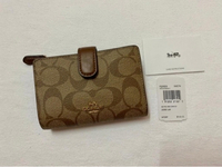 Used Coach Wallet in Signature Canvas in Dubai, UAE