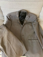 Used suit size L 175 height missing button in Dubai, UAE