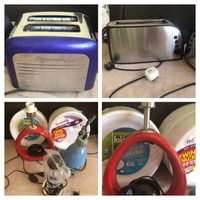 Used Used items 2 toaster and 3 lamps  in Dubai, UAE