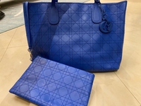 Used Blue Christian Dior Handbag w attachment in Dubai, UAE