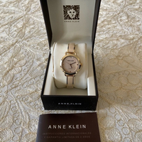 Used Anne Klein diamond bangle bracelet watch in Dubai, UAE