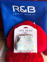 Used New R&B coin holder purse with package🍍 in Dubai, UAE