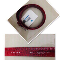 Used  Orciani Crocs Leather Belt/size 90 ♥️ in Dubai, UAE