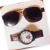 Used Set for Men / Sunglasses &Watch ♥️ in Dubai, UAE