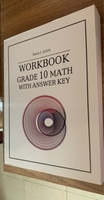 Used Grade 10 Math Workbook in Dubai, UAE