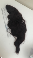 Used Clip on ponytail hair clip- dark brown  in Dubai, UAE