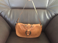 Used Made in turkey leather bag slight use  in Dubai, UAE