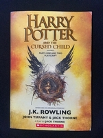 Used Harry Potter and the cursed child book in Dubai, UAE