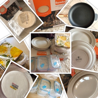 Used Bundle of plates & iron cast frying pan  in Dubai, UAE