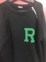 Used RAF simons letter badge sweater in Dubai, UAE