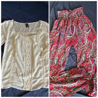 Used Guess top and Hawaii pants  in Dubai, UAE