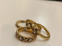 Used 4 Stackable rings size 7 in Dubai, UAE