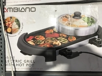 Used Electric Grill with hot pot in Dubai, UAE