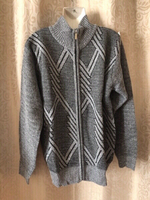 Used Knitted soft men's jacket size 3XL in Dubai, UAE