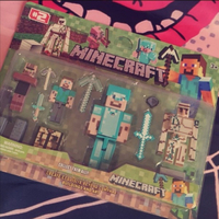 Used Minecraft Figurines 12 pieces in Dubai, UAE
