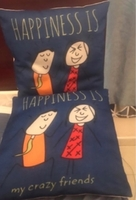 Used 2 cushions with cover lightly used in Dubai, UAE