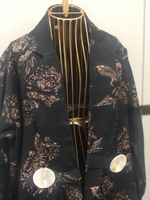 Used Open Abaya used once only with scarf in Dubai, UAE