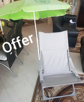 Used summer  . Beach seat with umbrella LAS👈 in Dubai, UAE