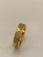 Used Louis Vuitton copy ring size 7 in Dubai, UAE