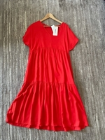 Used Lcwaikiki midi dress size L/XL in Dubai, UAE