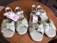 Used Zara shoes (Mummy 39 and daughter 31)new in Dubai, UAE