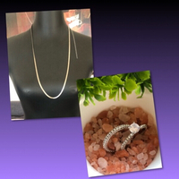 Used SILVER RINGS AND NECKLACE  in Dubai, UAE