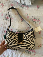 Used Zebra print branded bag in Dubai, UAE