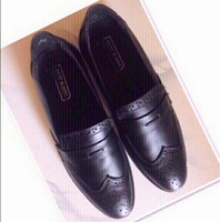 Used Black Formal Men Shoes size 9♥️ in Dubai, UAE