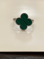 Used VCA Free size clover ring new  in Dubai, UAE