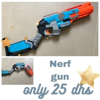Used Nerf gun 25 dhs only in Dubai, UAE