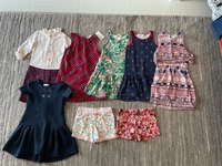 Used Offer clothes for a girl 4-5 years old  in Dubai, UAE