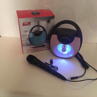 Used Karaoke Bluetooth speaker and microphone in Dubai, UAE