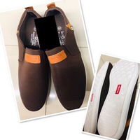 Used Brown Shoes for Him size 44 ♥️ in Dubai, UAE