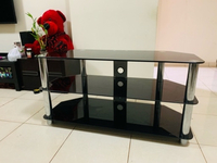 Used TV TABLE ALMOST NEW VERY GOOD CONDITION  in Dubai, UAE