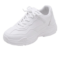 Used Shein Chunky White Shoes WORN TWICE ONLY in Dubai, UAE