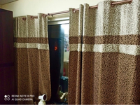 Used 2 piece curtains with rod  in Dubai, UAE