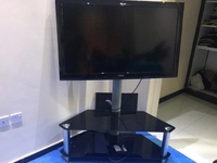 Used 46inch Haier LCD LED TV with Stand in Dubai, UAE
