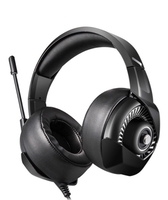 Used LED Over the Ear Gaming Headset with Mic in Dubai, UAE