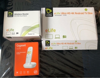 Used Etisalat setup box with phone NEW  in Dubai, UAE